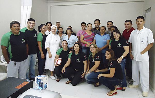 Práticas humanizadas para a saúde no trabalho dos colaboradores do Setor de Zeladoria.