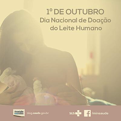 Dia Nacional de Doação do Leite Humano